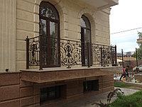 Ограждение кованное для балкона