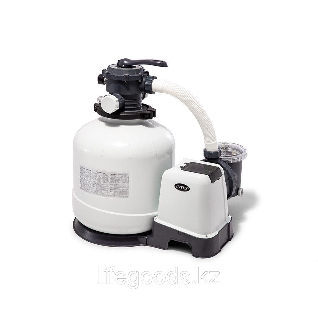 Фильтр-насос для бассейнов песочный 12113 л/час Intex 26652
