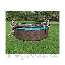 Тент для каркасных бассейнов диаметром 360-366 см, Bestway 58037, фото 2