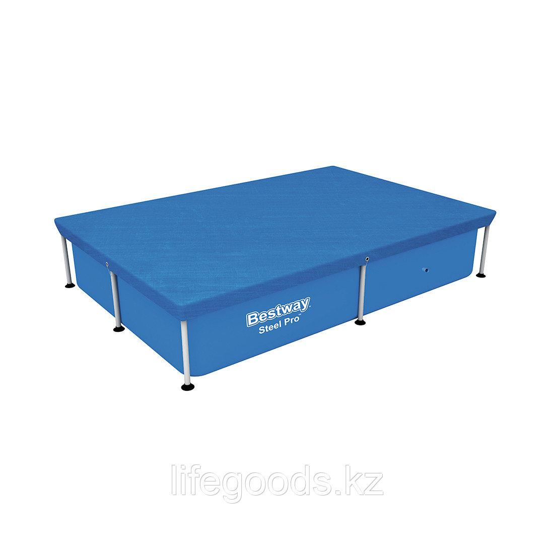 Тент для каркасных бассейнов размером 221х150 см Bestway 58103