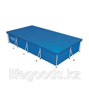Тент для каркасных бассейнов размером 400х210 см Bestway 58107, фото 2