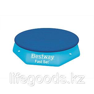 Тент для бассейнов с надувным бортом диаметром 305 см Bestway 58033, фото 2