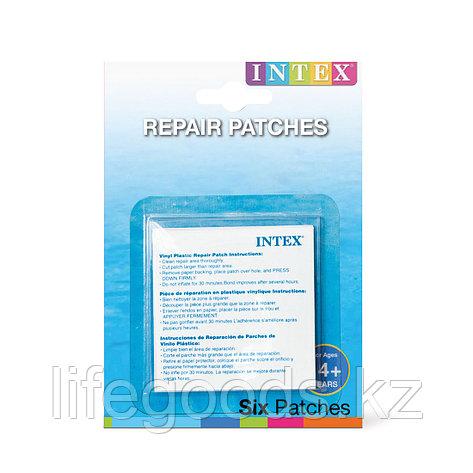 Набор для ремонта надувных изделий  Intex 59631NP (в упаковке 6 шт заплаток), фото 2