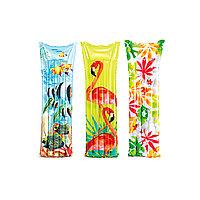 Надувной пляжный матрас Fashion 183х69 см Intex 59720NP