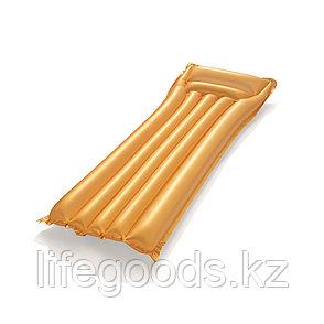"""Надувной пляжный матрас """"Золото"""" 183х69 см Bestway 44044, фото 2"""
