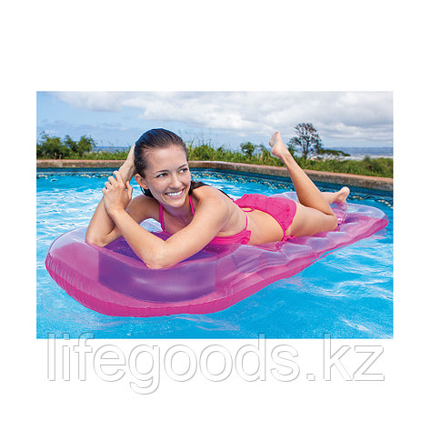 Надувной пляжный матрас 18-Pocket Suntanner 188х71 см, Intex 59895NP, фото 2