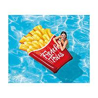Надувной пляжный матрас French Fries 175х132 см, Intex 58775EU