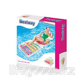 Надувной пляжный матрас складной 201х89 см Bestway 43023, фото 2
