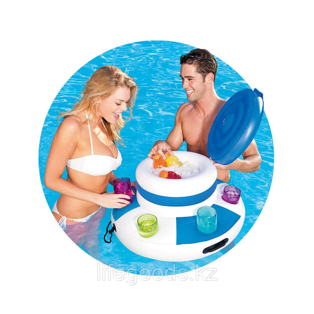 Надувной плавающий термоконтейнер для напитков Bestway 43117