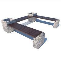 Скамья Х3  (садовая, парковая)