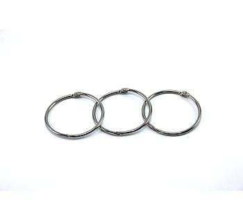 Металлическое кольцо с фиксатором 56мм
