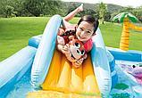 Игровой центр-бассейн приключения в джунглях intex 57161, фото 4