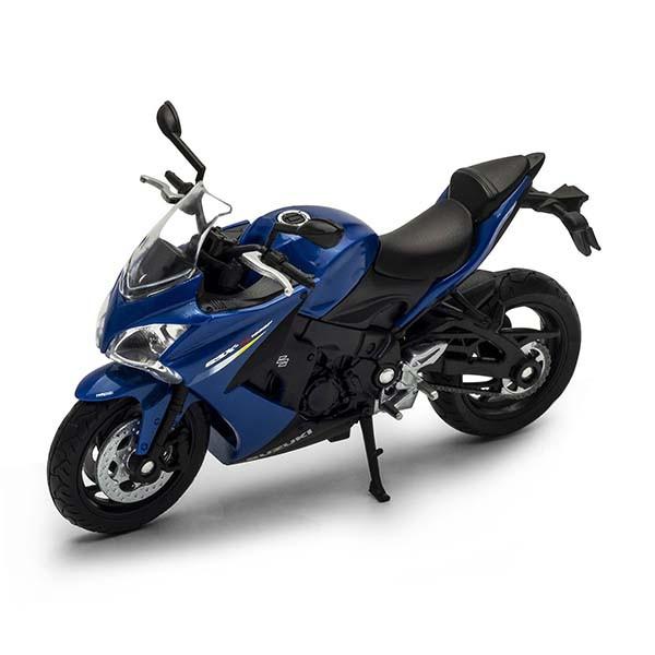 1/18 Welly Масштабная модель мотоцикла Suzuki GSX-S1000F