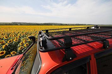 Багажник экспедиционный для Toyota Land Cruiser (70,76,80), Nissan Patrol (Y60, Y61) с сеткой