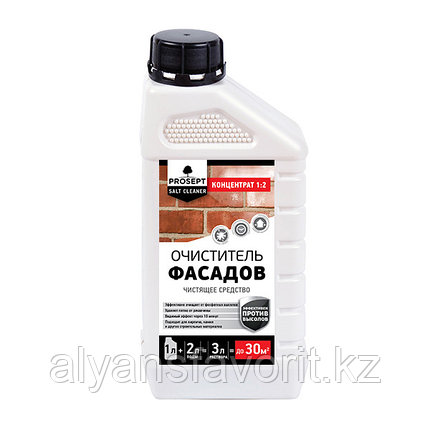 SALT CLEANER  - удалитель высолов- концентрат. 1 литр. РФ, фото 2