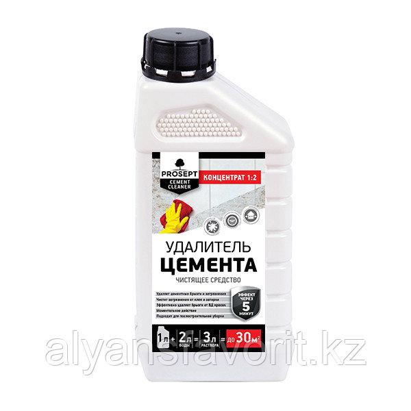 CEMENT CLEANER - удалитель цемента - концентрат.1 литр.РФ