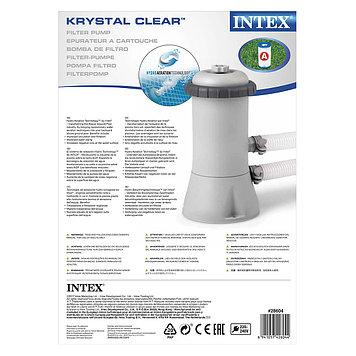 Насос фильтрующий Intex 28604, 2006 л/ч, Цвет: Серый