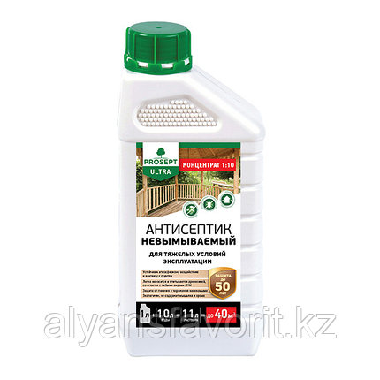 ULTRA - пропитка антисептик-концентрат невымываемый для отв. констр. 1 литр.РФ, фото 2