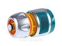 """Соединитель RACO """"Profi-Plus"""" (шланг-насадка) с автостопом, усиленный пластик, 1/2"""" 4247-55098B"""