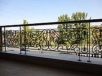 Кованные ограждения для балкона