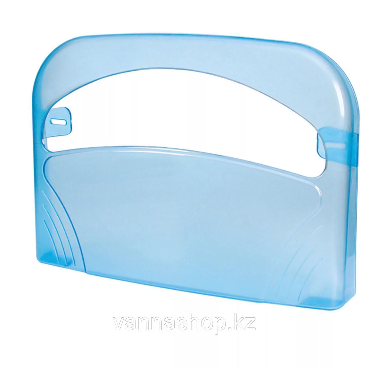 """Диспенсер Palex для гигиенической бумаги на крышку унитаза """"Синий"""""""