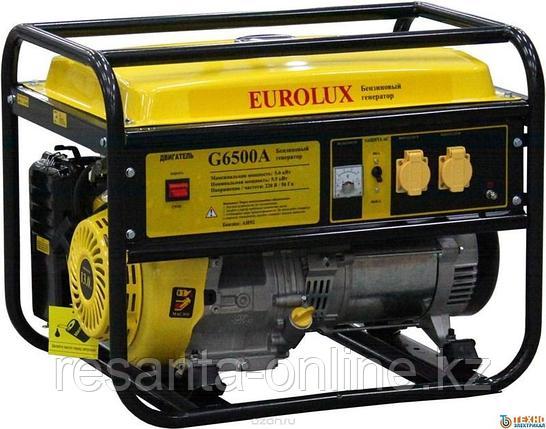 Электрогенератор EUROLUX G6500A, фото 2