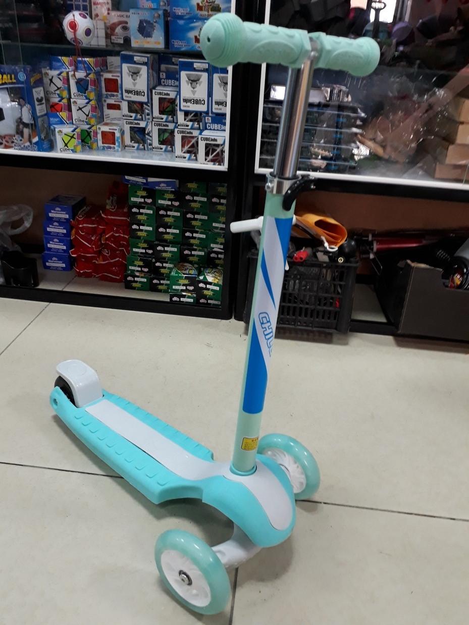 Самокат Scooter детский трехколесный
