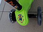 Самокат Scooter детский трехколесный недорогой, фото 3