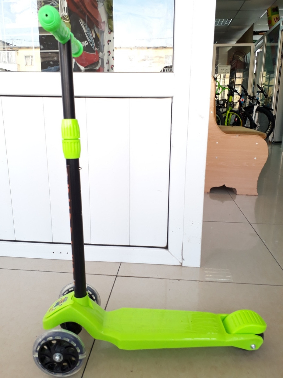 Самокат Scooter детский трехколесный недорогой