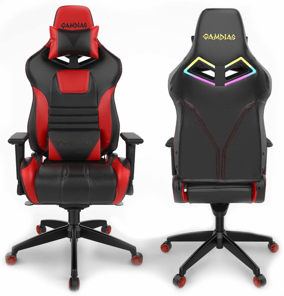 Игровое кресло GAMDIAS ACHILLES M1A L BR Red