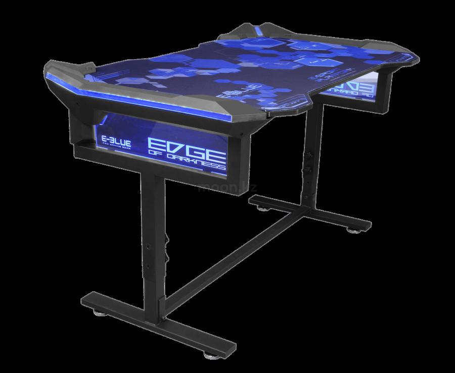 Стол для ПК игровой E-BLUE EGT004BKAA-IA