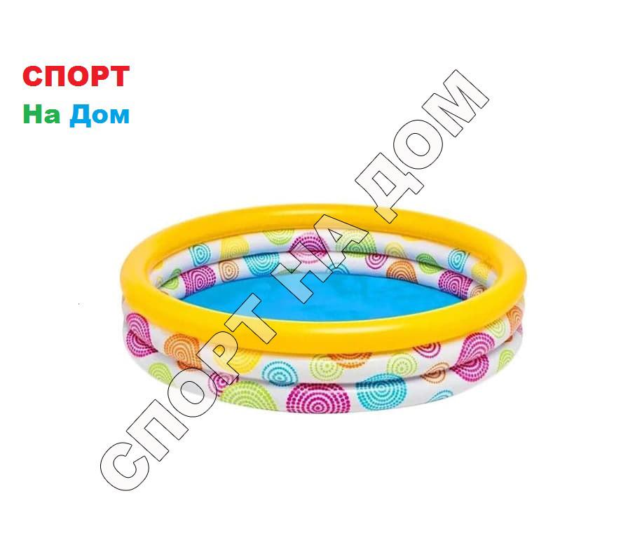 Детский надувной бассейн Intex 59419 NP (114 х 25 см на 132 литра)