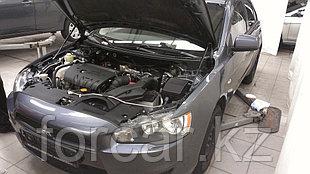 Упоры (амортизаторы) капота для Mitsubishi Lancer X