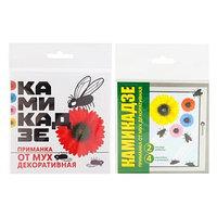 Приманка декоративная от мух 'Камикадзе', 4 наклейки