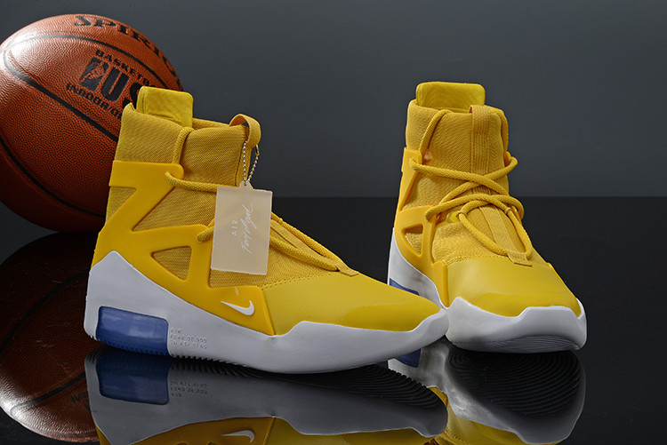 Кроссовки Nike Air Fear Of God 1 Yellow