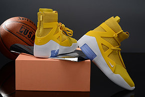 Кроссовки Nike Air Fear Of God 1 Yellow, фото 2
