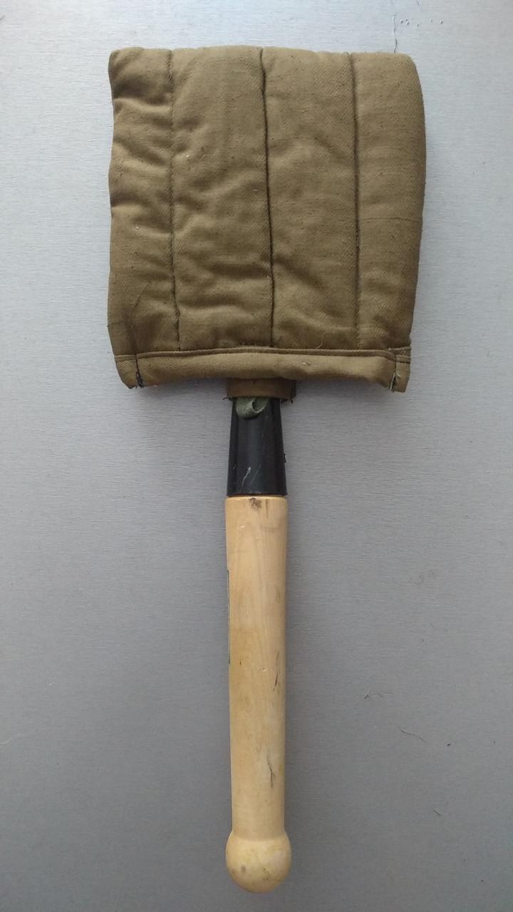 Лопатка пехотная (саперная), туристическая МПЛ-50 в чехле.