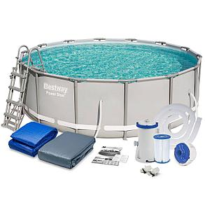 Каркасный сборный бассейн Bestwey 56444 (427х122 см, на 15232 литра), фото 2