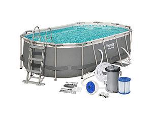 Каркасный сборный бассейн Bestwey 56620 (424*250*100 см, на 7250 л), фото 2
