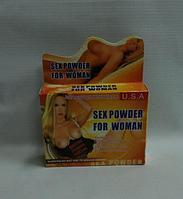 "Возбуждающая жвачка ""Sex Powder For Woman"" ( Упаковка: 4 коробочки по 5 пластинок )"
