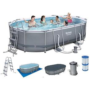 Каркасный бассейн Bestwey 56448 (488*305*107 см, на 10949 л), фото 2