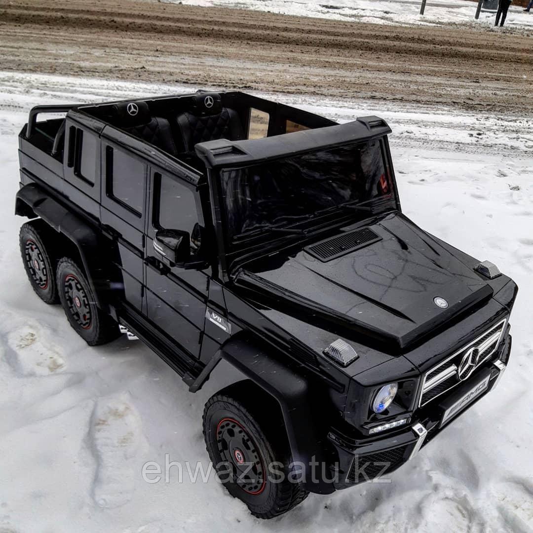 Детский двухместный электромобиль Mercedes-Benz G63 6x6