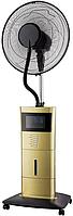 Напольный вентилятор с функцией холодного пара (с увлажнителем) с пультом на колесиках DAUSCHER DSF - 888GGG, фото 1
