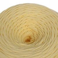 Трикотажная лента 'Лентино' лицевая 100м/320гр, 7-8 мм (св. жёлтый)