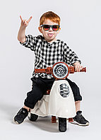 Детский мотоцикл каталка Happy Baby Moppy, фото 1