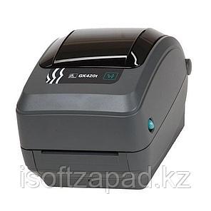Термотрансферный принтер этикеток Zebra GK420t, фото 2