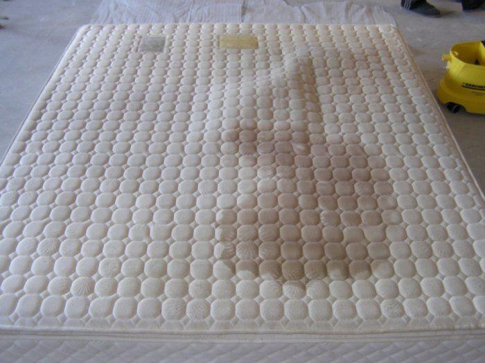 Химчистка матраса 1,5 спальное место (с одной стороны)
