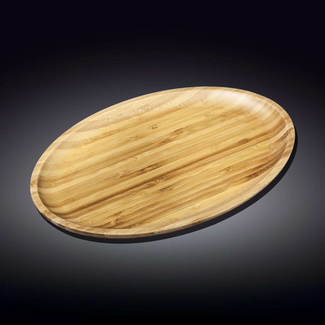 Блюдо Бамбук Wilmax овальное 38*27см