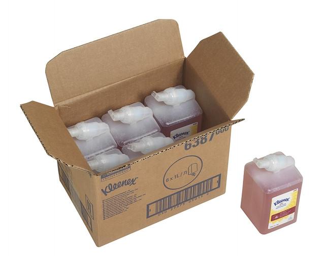 Пенное мыло в картриджах Kleenex Joy Luxury 1L. Производство Kimberly Clark Professional 6387