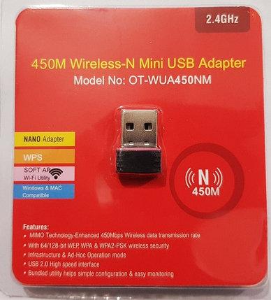 USB-Wi-Fi 450M Wireless N Mini Adapter, фото 2